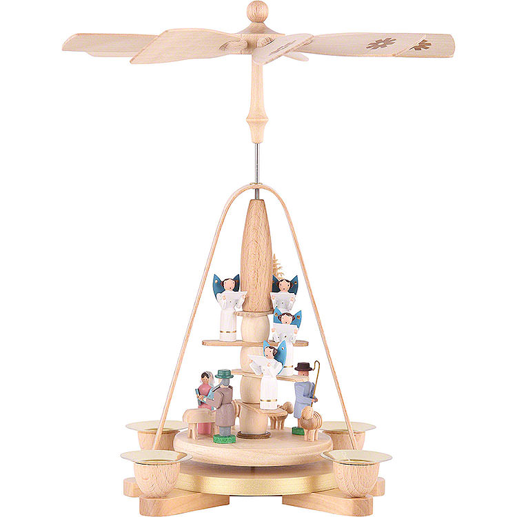 1 - Tier Pyramid  -  Angel Staircase  -  28cm / 11 inch