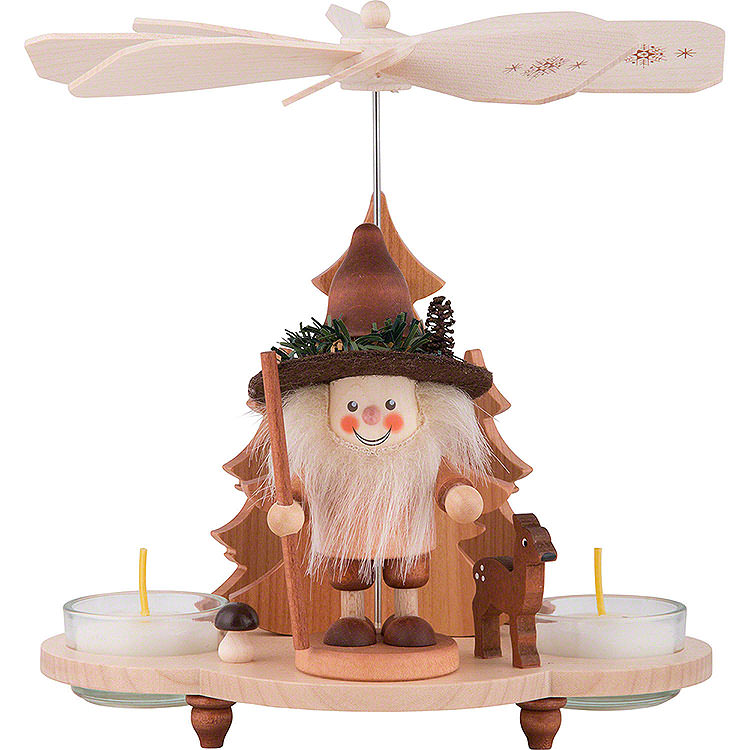 1 - Tier Pyramid  -  Forestman  -  19,5cm / 8 inch
