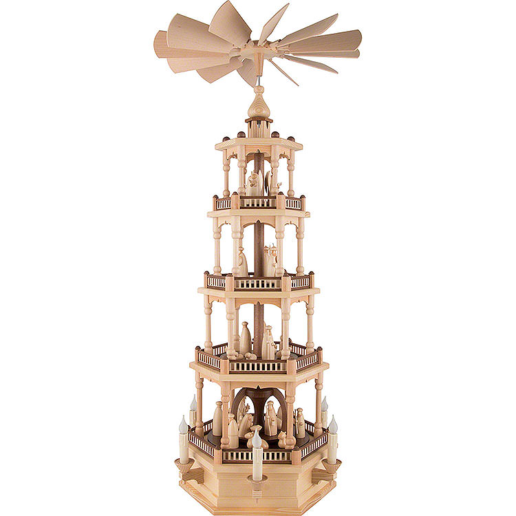 4 - stöckige Pyramide Christi Geburt  -  86cm