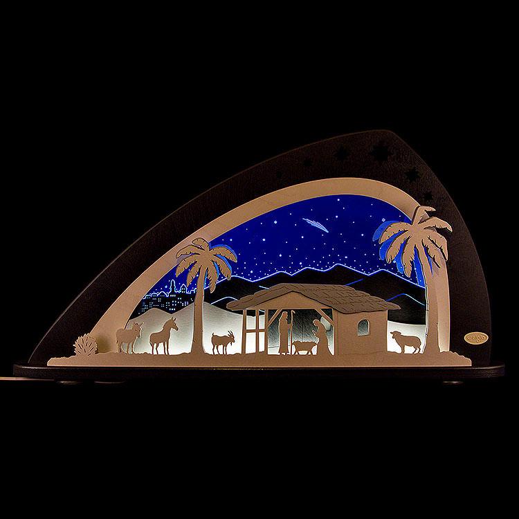 """Candle Arch  -  LED """"Bethlehem""""  -  66x33,8cm / 26x13.3 inch"""