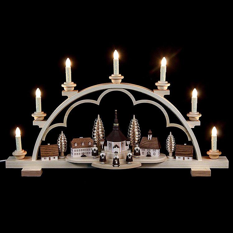 Candle Arch  -  Village Seiffen  -  64cm / 25 inch