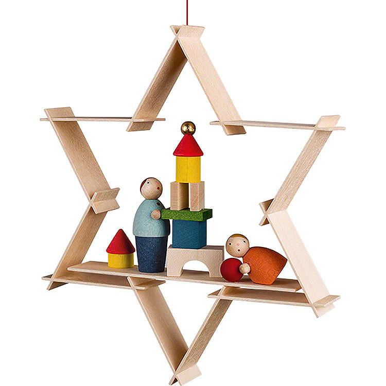 Christbaumschmuck Kinder mit Spielzeug  -  9,5cm