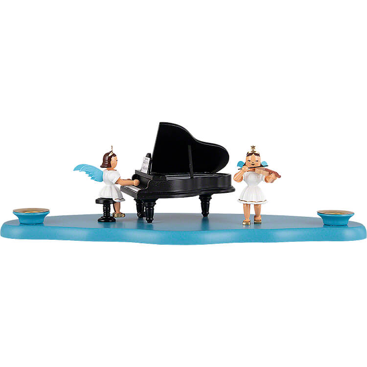 Cloud with Angel at the Piano  -  29x12x10cm / 11.4x4.7x3.9 inch