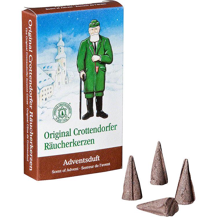 Crottendorfer Incense Cones  -  Scent of Advent