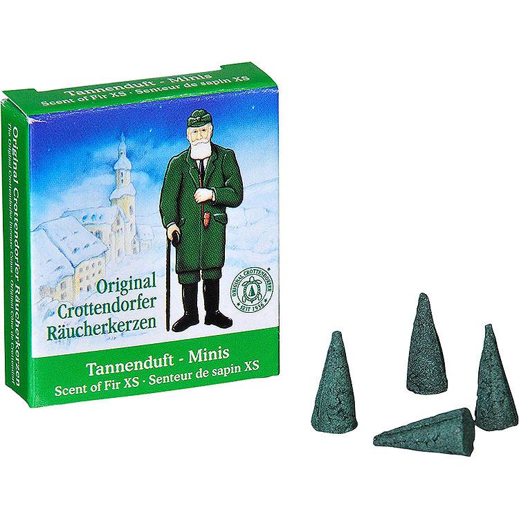 Crottendorfer Incense Cones Scent of Fir  -  Miniature
