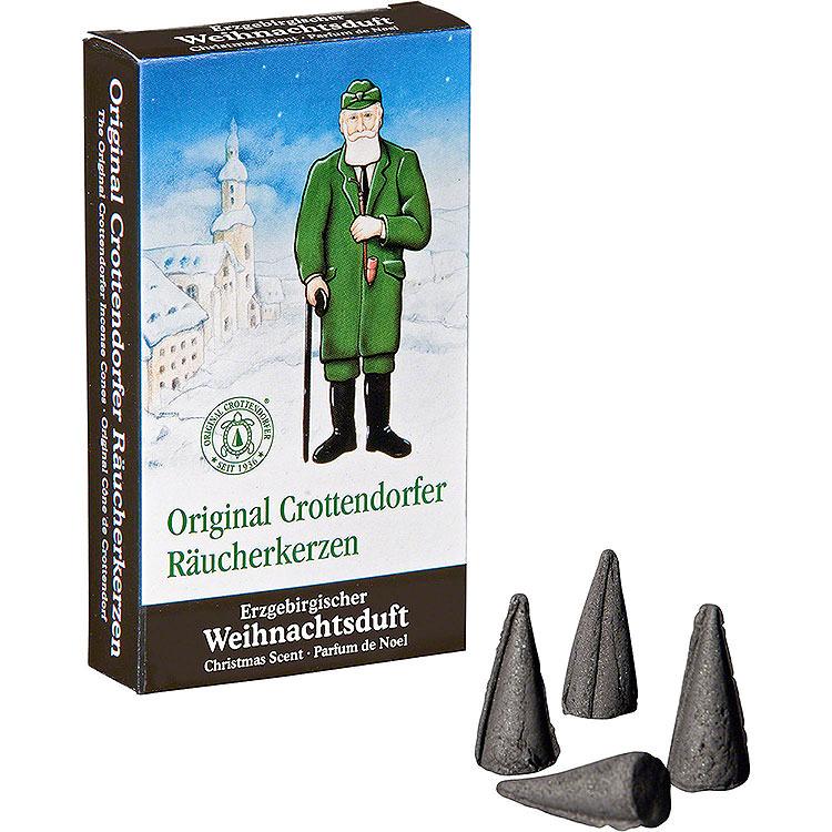 Crottendorfer Räucherkerzen  -  Erzgebirgischer Weihnachtsduft