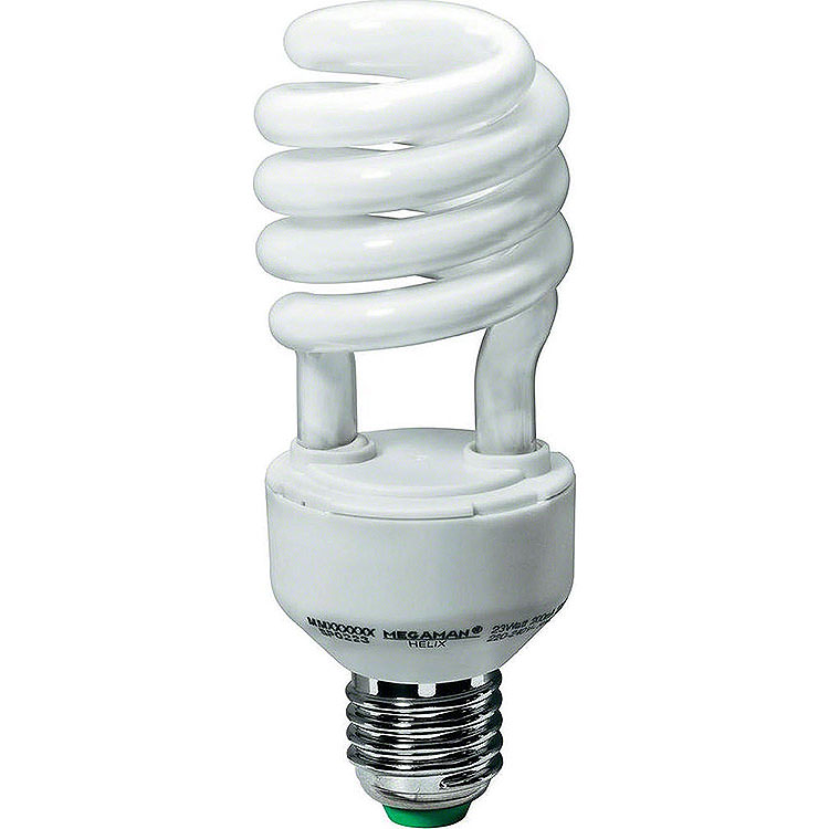 Energiesparlampe E27, 8 Watt
