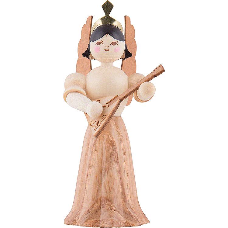 Engel mit Balalaika  -  7cm