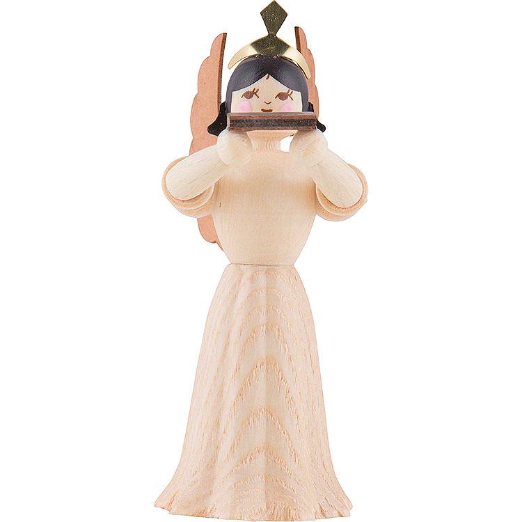Engel mit Mundharmonika  -  7cm
