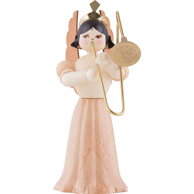 Engel mit Posaune  -  7cm