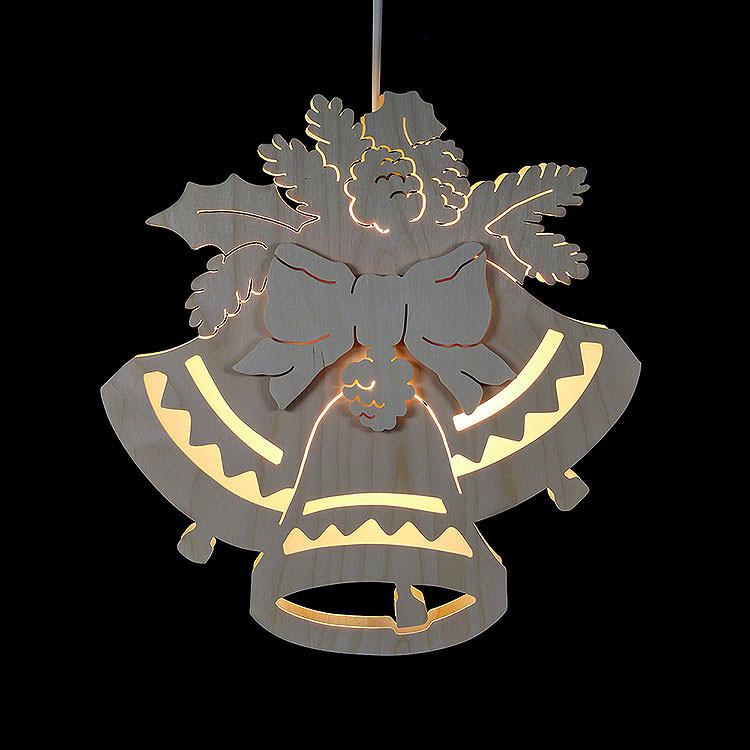 Fensterbild Drei Glocken  -  Durchmesser 30,5cm