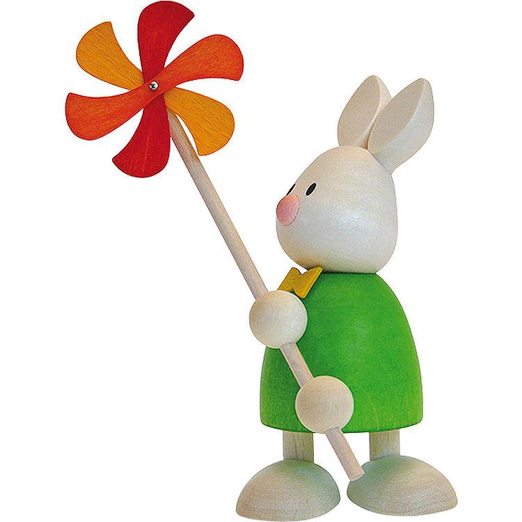 Kaninchen Max mit Windmühle  -  9cm