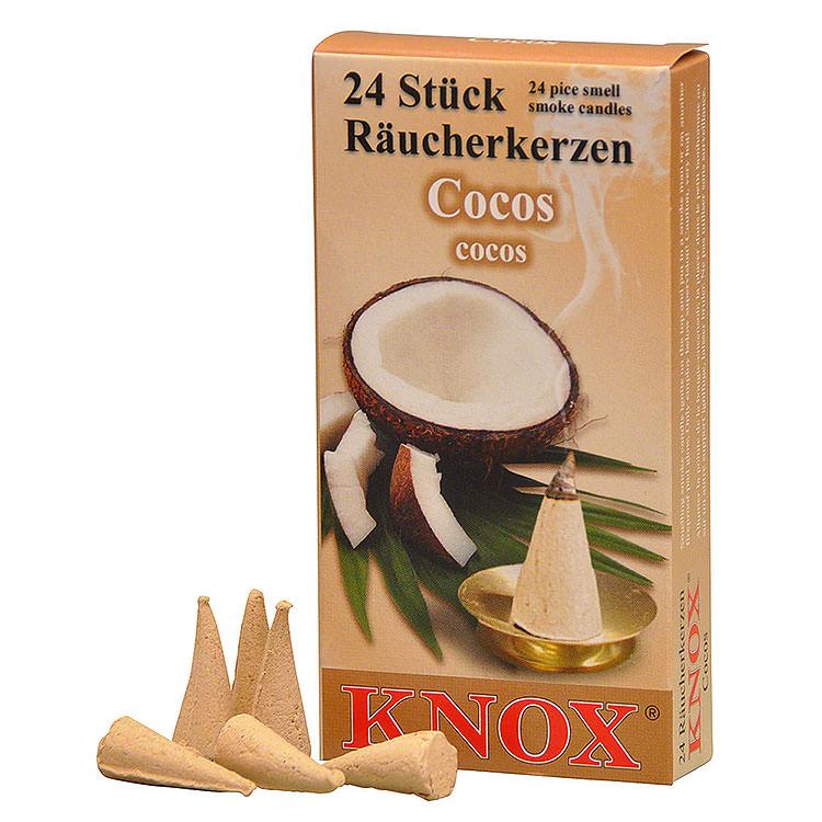 Knox Incense Cones  -  Coconut
