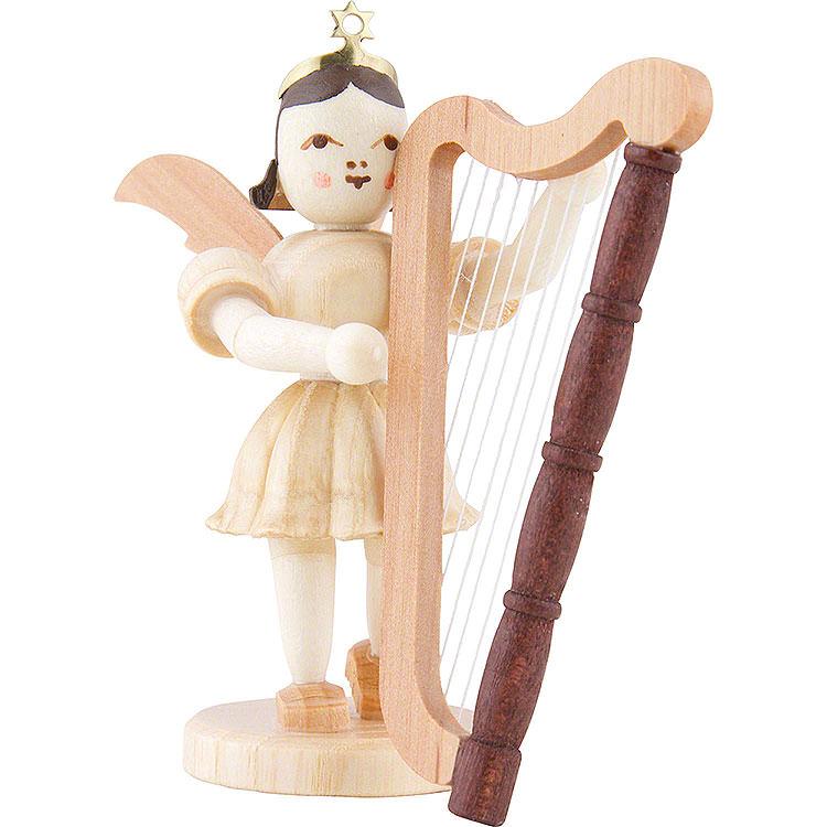 Kurzrockengel Harfe, natur  -  6,6cm