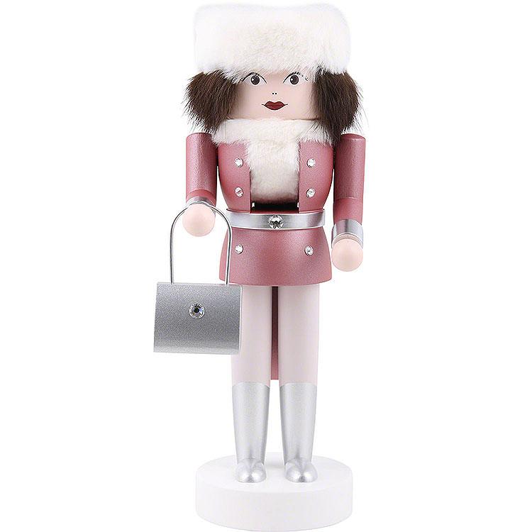 "Nussknacker ""Jasmin"" (pink)  -  25cm"