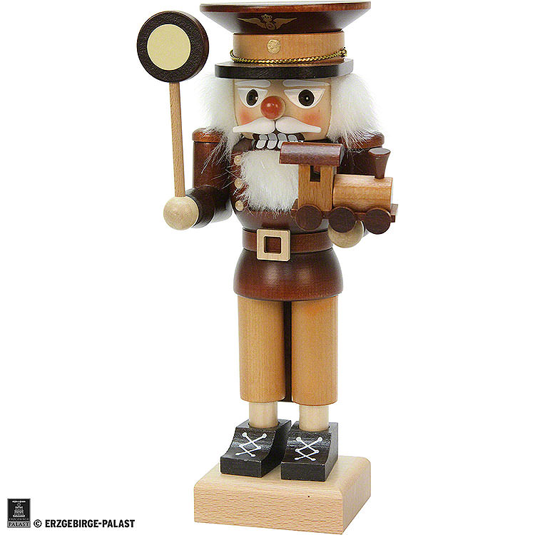 Nutcracker  -  Conductor Natural Wood  -  24,5cm / 10 inch