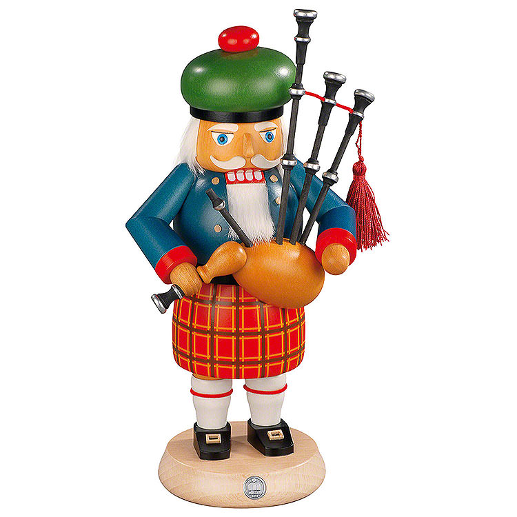 Nutcracker  -  Scotsman with Bagpipe  -  27cm / 11 inch