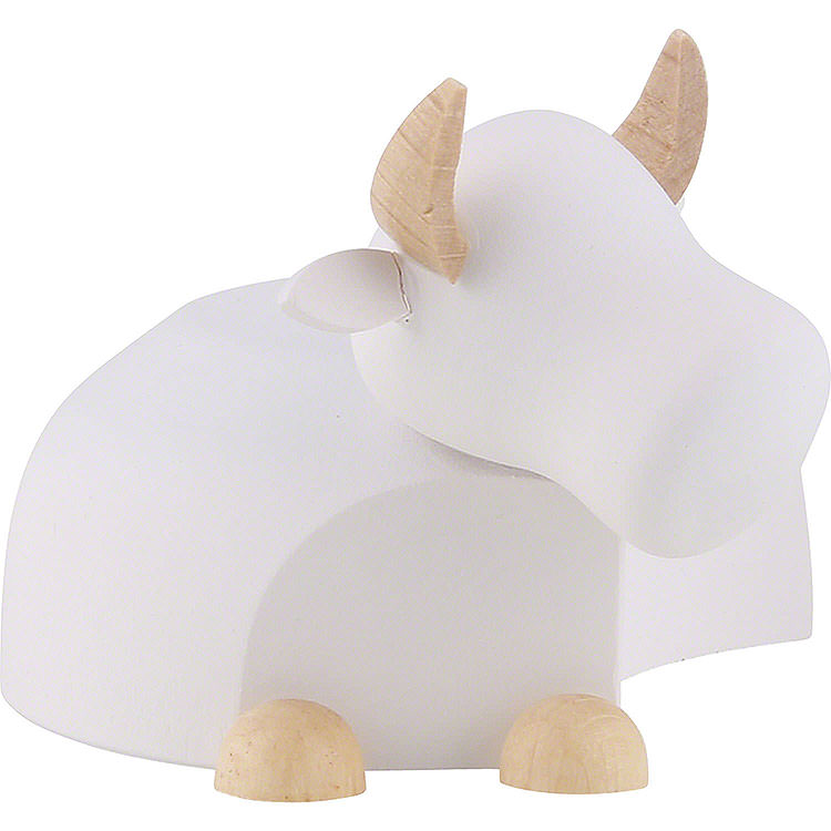 Ox White/Natural  -  Large  -  6cm / 2.4 inch