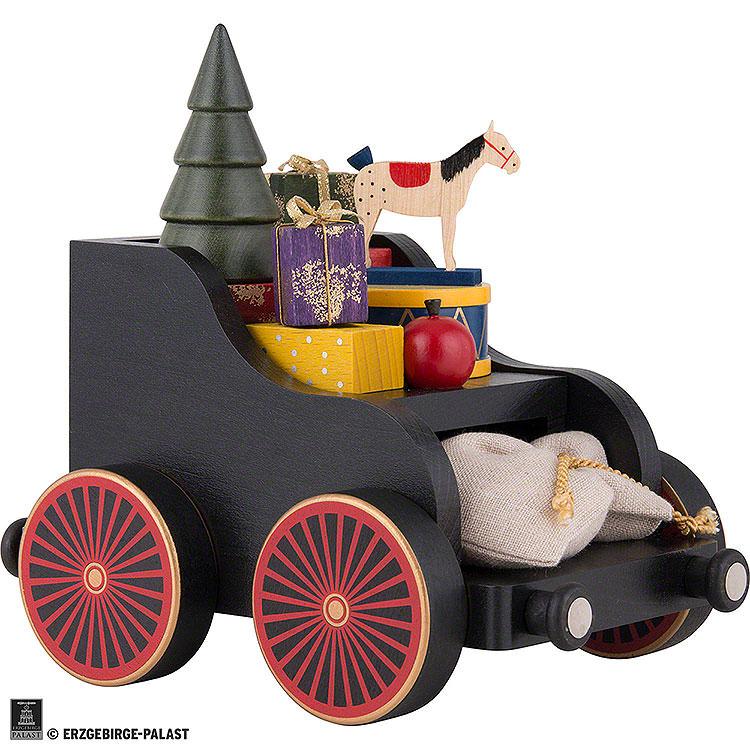 Presents Wagon for Railroad  -  19x17x13cm/7.4x6.7x5.1 inch