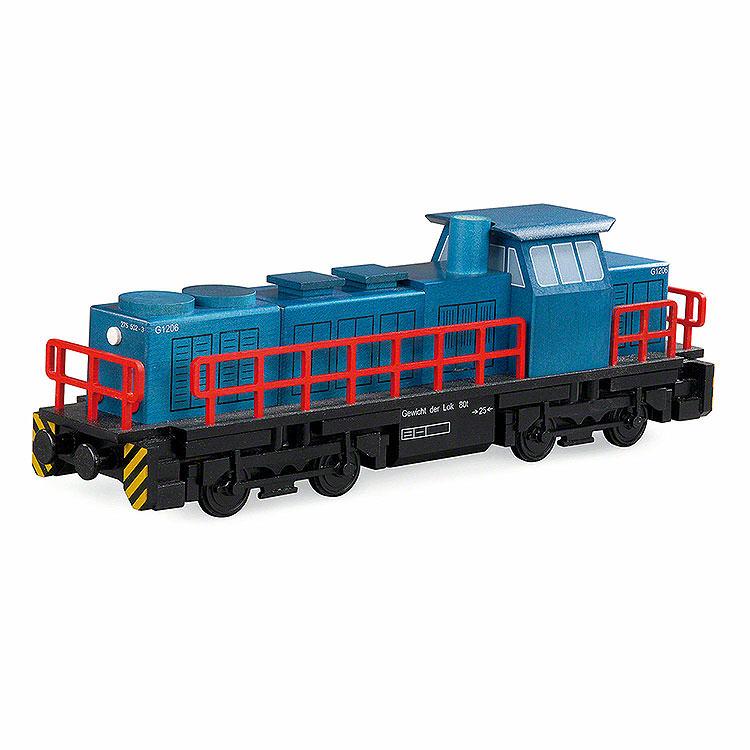 Räuchermännchen Diesellokomotive  -  25x6x8cm
