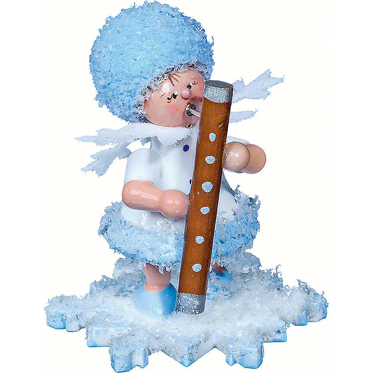 Schneeflöckchen mit Fagott  -  5cm