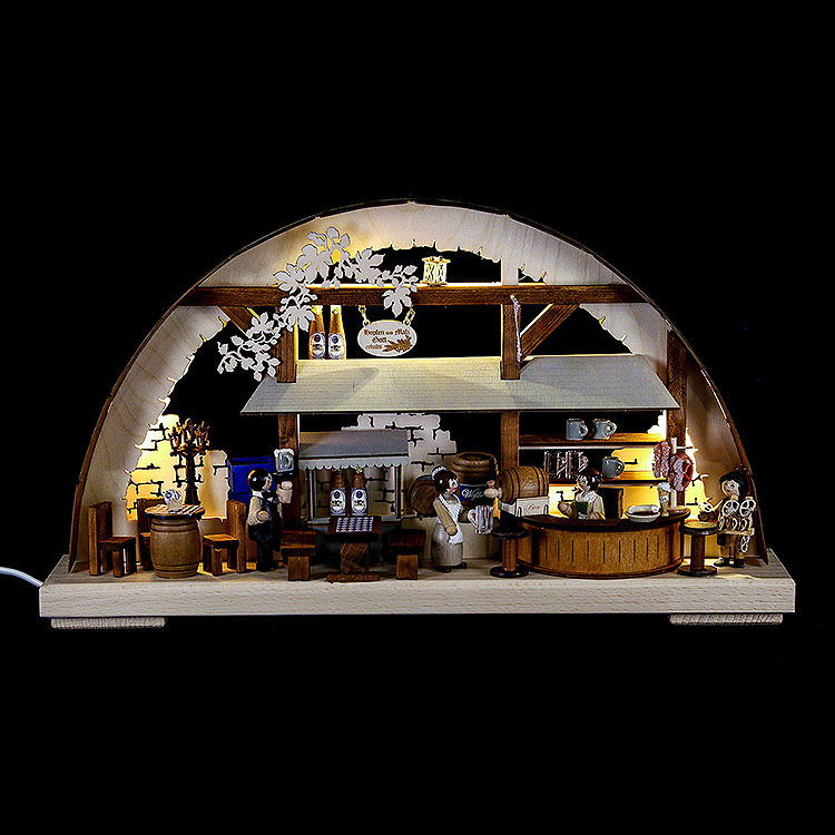 Schwibbogen Hofbräuhaus  -  43x30cm