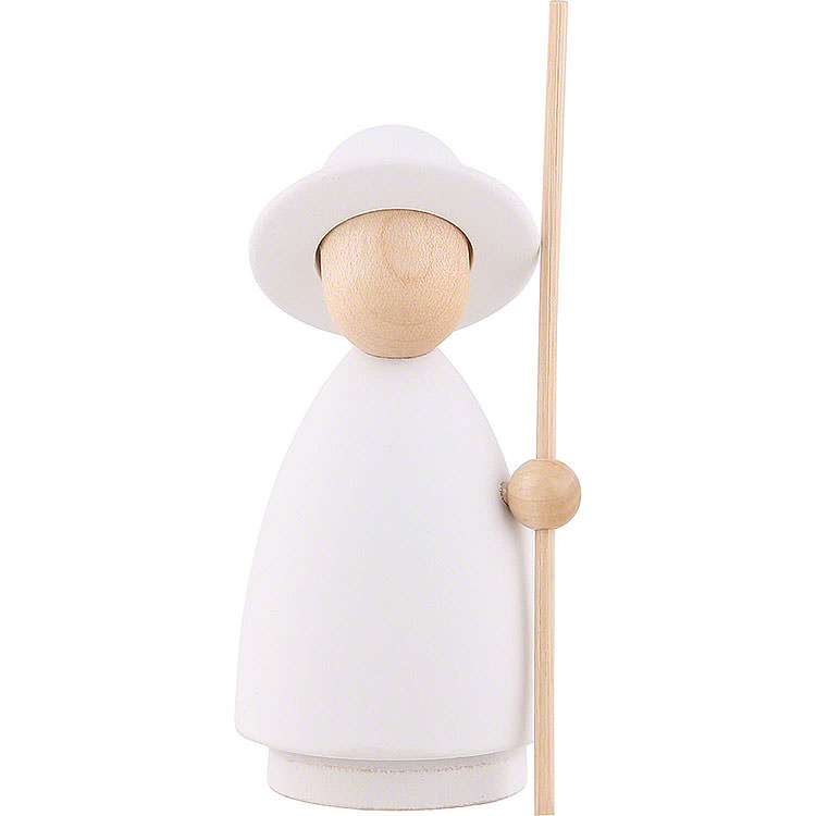 Shepherd White/Natural  -  Large  -  10cm / 3.9 inch