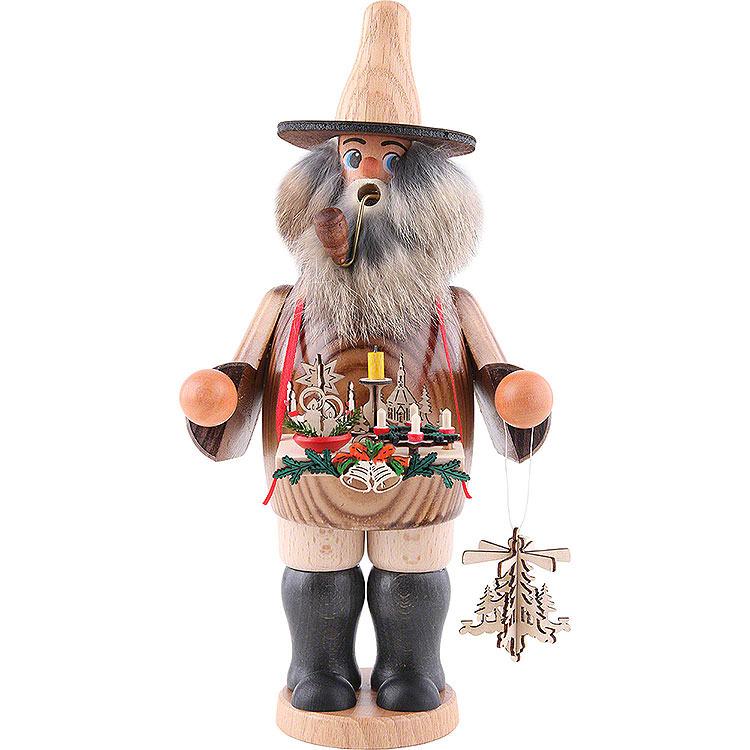 Smoker  -  AdventCandle Holder  -  Salesman  -  25cm / 10 inch