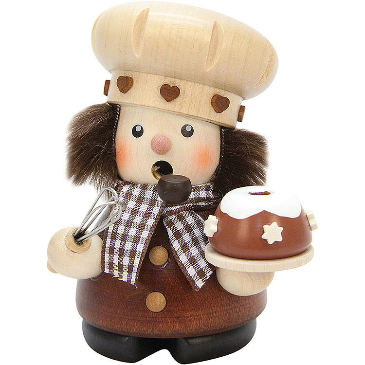 Smoker  -  Confectioner Natural  -  10,0cm / 3.9 inch