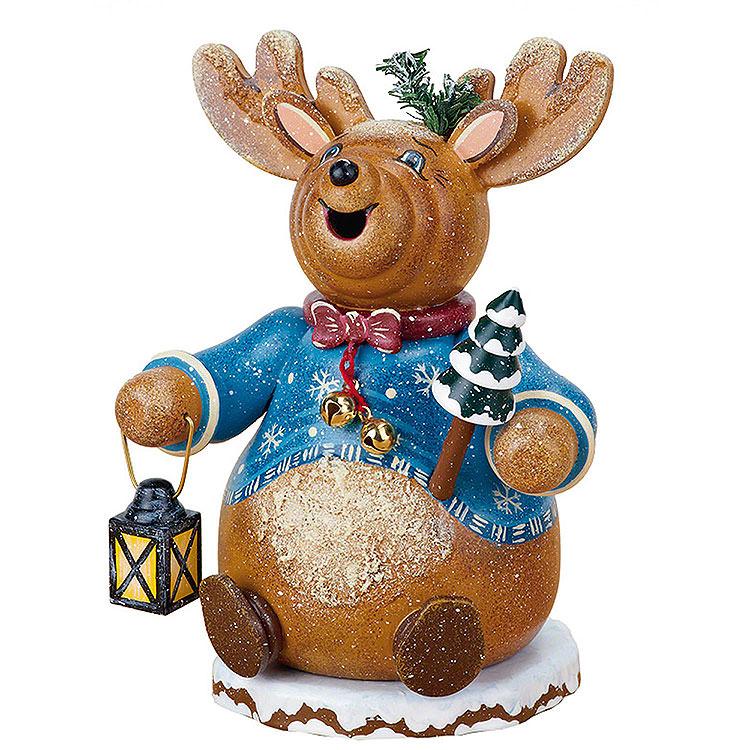 Smoker  -  Gnome Rudolph Reindeer 14cm / 5 inch