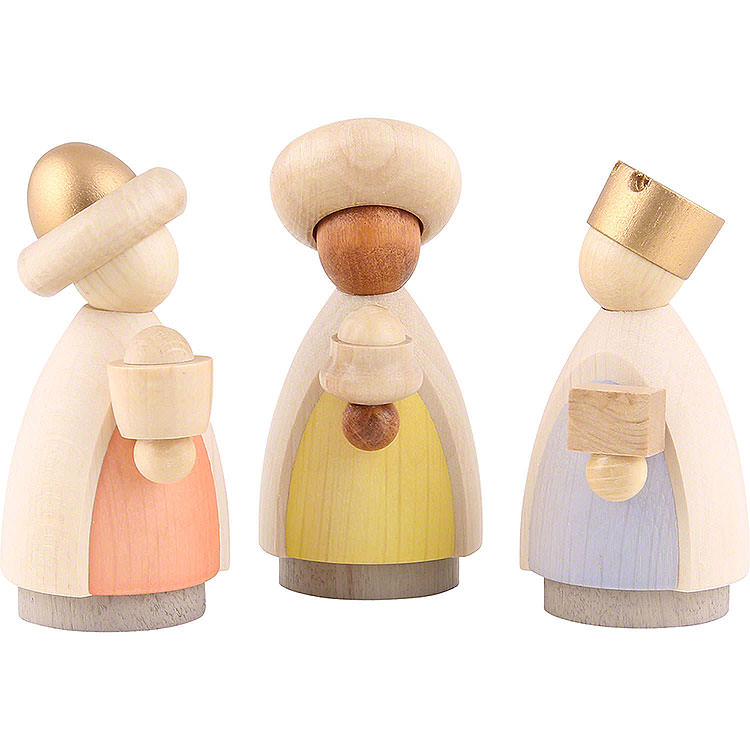 The Three Wise Men Colored  -  7cm / 2.8 inch