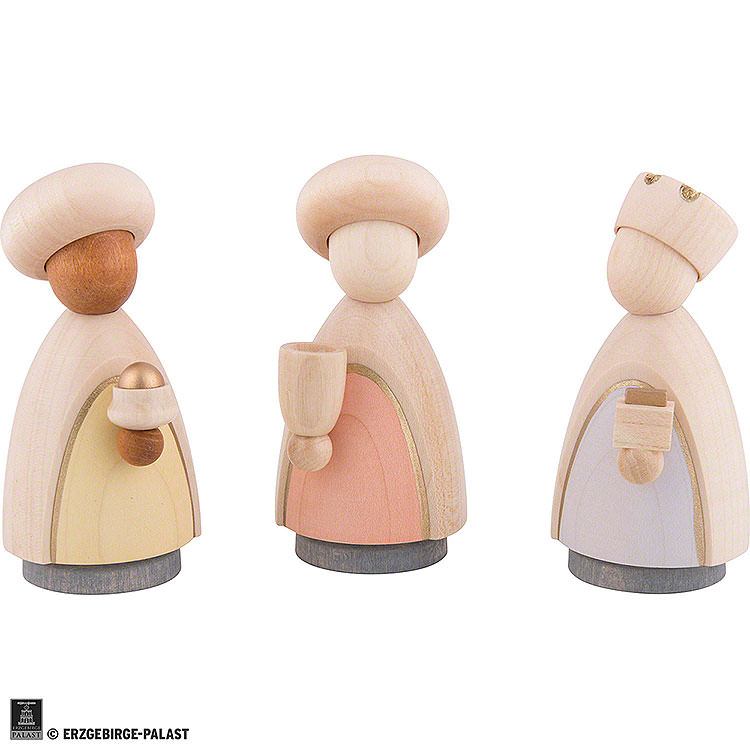 The Three Wise Men  -  Colored  -  Large  -  10cm / 3.9 inch