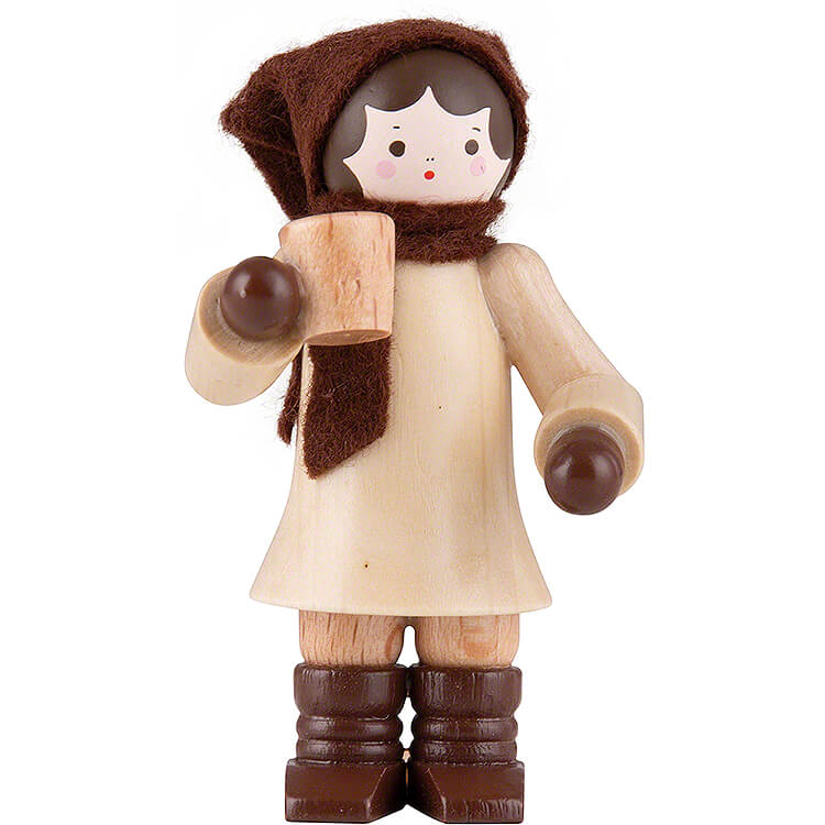Thiel Figurine  -  Mulled Wine Drinker  -  natural  -  5,5cm / 2.2 inch
