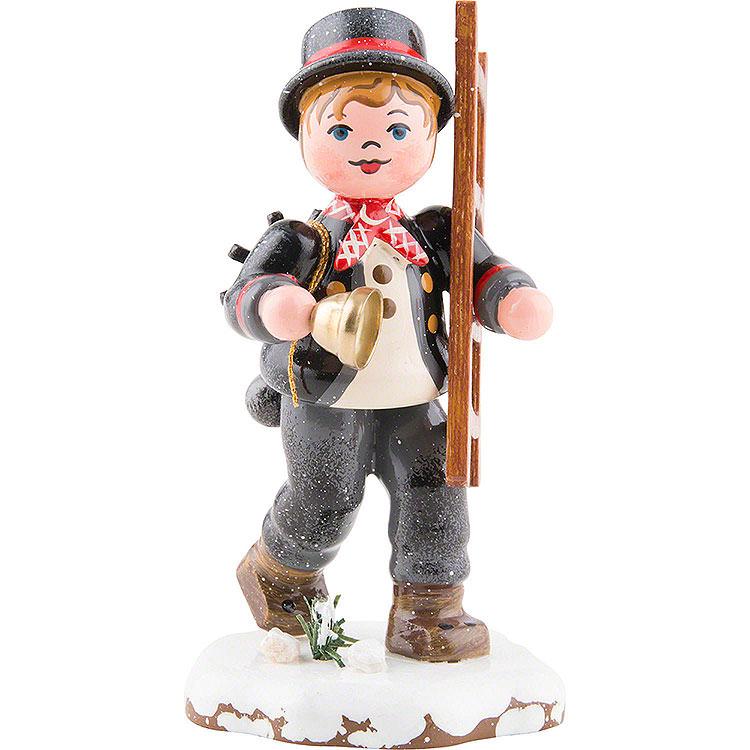 Winter Kids Chimney Sweep  -  8cm / 3,1 inch