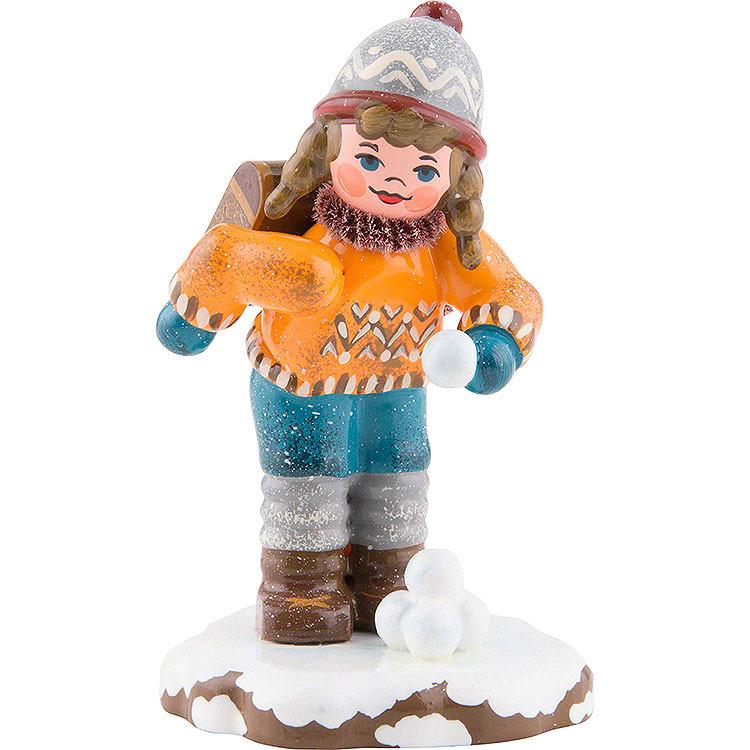 Winterkinder Schulmädchen  -  7cm