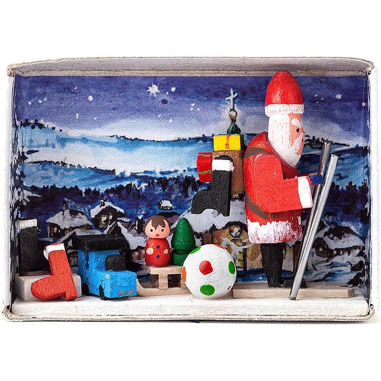 Zündholzschachtel Verlorene Weihnachtsgeschenke  -  4cm