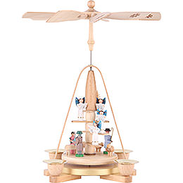 1 - Tier Pyramid  -  Angel Staircase  -  25cm / 9.8 inch