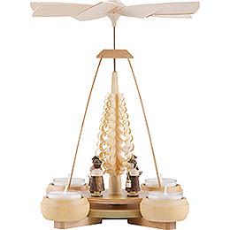 1 - Tier Pyramid  -  Carolers  -  24cm / 9.4 inch