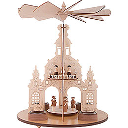 1 - Tier Pyramid Church of Our Lady  -  30cm / 11.8 inch