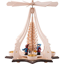 1 - Tier Pyramid  -  Lampion Children  -  37cm / 14.5 inch
