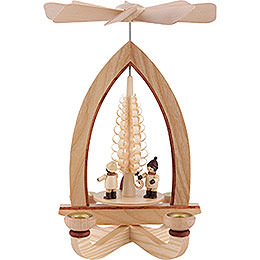1 - Tier Pyramid  -  Lampion Children  -  Natural  -  28cm / 11 inch