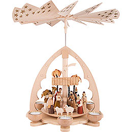 1 - Tier Pyramid  -  Nativity  -  40cm / 15.7 inch