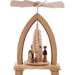 1 - stöckige Pyramide Christi Geburt  -  25cm