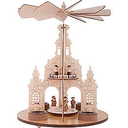 1 - stöckige Pyramide Frauenkirche  -  30cm
