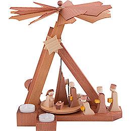 1 - stöckige Pyramide modern Christi Geburt  -  30,5cm