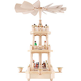 3 - Tier Pyramid  -  Nativity  -  45cm / 17.7 inch