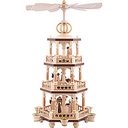 3 - Tier Pyramid  -  The Christmas Story  -  51cm / 20 inch