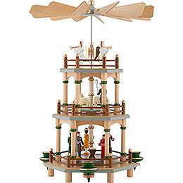 3 - stöckige Pyramide Christi Geburt  -  35cm