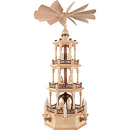 3 - stöckige Pyramide Christi Geburt  -  73cm
