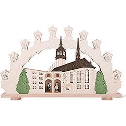 3D - Doppelschwibbogen Martin Luther in Wittenberg  -  66x41x6cm